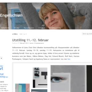 Maren Engelschion forside 2009-