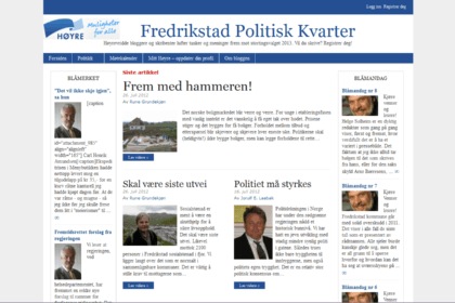 Fredrikstad Polititsk Kvarter