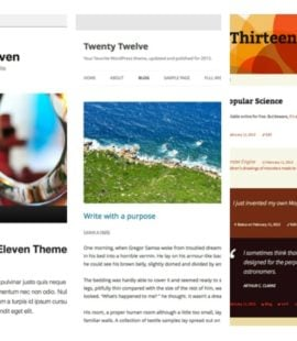 WordPress standard temaer