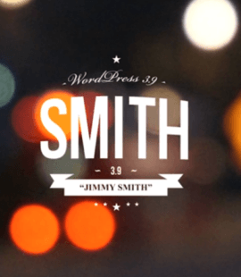 WordPress 3.9 Smith logo