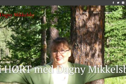 Dagny.no skjermdump