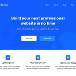 Blocksy – WordPress-tema med blokker