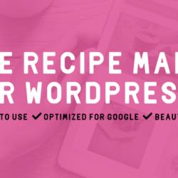 Oppskriftsmaker for din matblogg fra Zip Recipes – WordPress-utvidelse på norsk